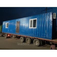 Модульное здание жилое контейнерного типа под ИТР 40 ф.