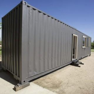 Жилье для строителей на базе 40 фут. контейнера.