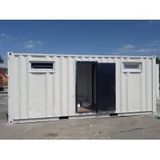 Санитарный утепленный контейнер на базе 20 фут.
