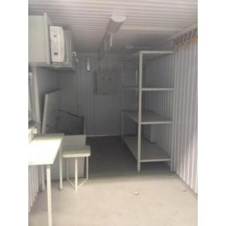 Утепленный контейнер передвижная лаборатория
